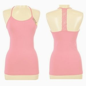 🔴 NWT Coobie Intimate Lace Racer Back Tank Top